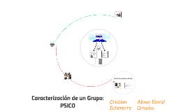 Caracterización de un Grupo: PSICO