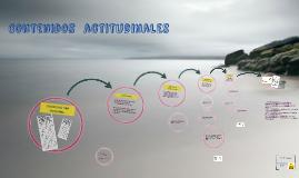 Copy of Contenidos conceptuales, procedimentales y actitudinales en