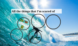All the things that I'm scared of