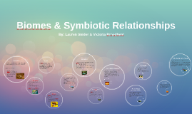 Biomes & Symbiotic Relationships