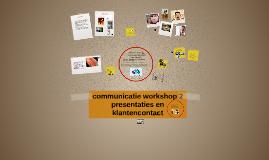 communicatie workshop 2