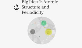 Big Idea 1 AP Chem