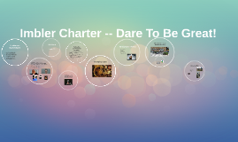 Imbler Charter -- Dare To Be Great!