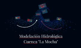 Modelación Hidrológica