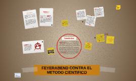 FEYERABEND CONTRA EL METODO CIENTIFICO