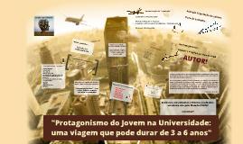 Protagonismo do jovem na Universidade