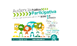 AUDIENCIA PUBLICA PARTICIPATIVA