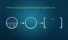 Online Payroll System for Baylor Supreme Inc.