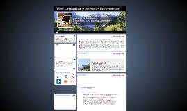 TDS-Organizar y publicar información