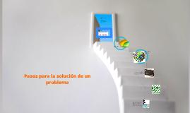Pasos para la solución de un problema