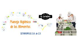 Copy of Manejo higienico de los Alimentos