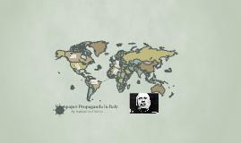 Newspaper Propaganda in Itlay