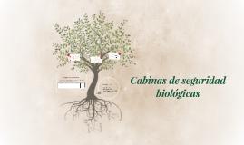 Cabinas de seguridad biológicas