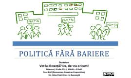 Politică fără Bariere: Votul la distanță