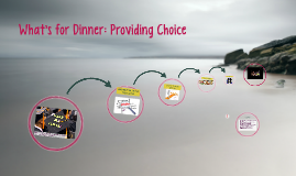 What's for Dinner: Providing Choice