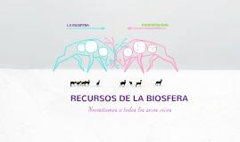 Copy of Recursos de la biosfera: necesitamos a todos los seres vivos