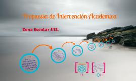 Propuesta de Intervención Académica