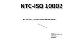 NTC ISO 10002:2005
