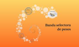 Banda selectora de pesos
