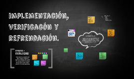 Copy of implementacion, verificacion y refrendacion.