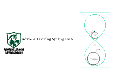 Advisor Training Spring 2016
