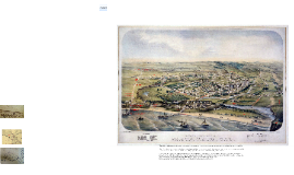 Bird's Eye View of Santa Cruz, 1870 (highlights)