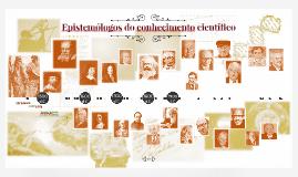 Copy of Epistemólogos do conhecimento científico