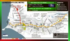Línea 2 del metro de Lima