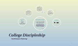 College Discipleship