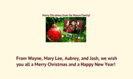 Merry Christmas from the Mason Family!