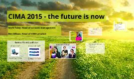 CIMA 2015 - employer Q&A