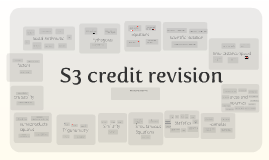 S3 credit revision