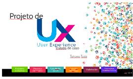 Projeto de UX - Estudo de caso