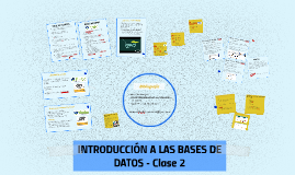 INTRODUCIÓN A LAS BASES DE DATOS
