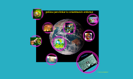 Copy of políticas para limitar la contaminación ambiental