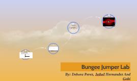 Bungee Jumper Lab