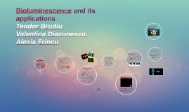 Bioluminescence is a form of chemiluminescence where light e