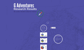 G Adventures Research Results