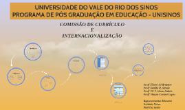 Comissão de Currículo e Internacionalização