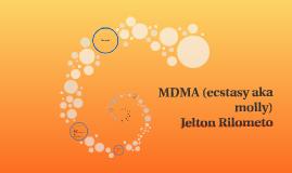 MDMA (ecstasy aka molly)