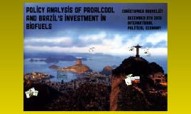 Brazil PROALCOOL IPE