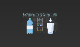 Bottled water or tap water???