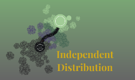 Independent Distribution of Entertainment
