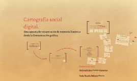 Cartografía social digital.