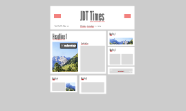 JDT Times