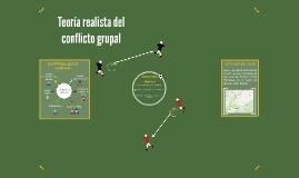 Teoría realista del conflicto grupal