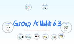 Anne's Group A Unit 6.3