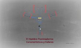 Copy of El Hombre Postmoderno: Características y Valores