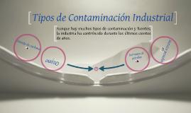 Tipos de Contaminación Industrial