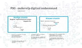 PSG - onderwijs digitaal ondersteund